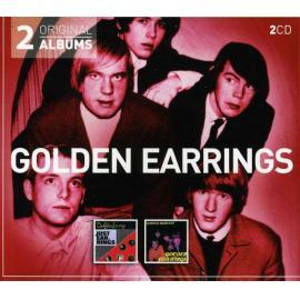 Just Earrings / Winter Harvest - Golden Earring