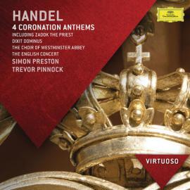 4 Coronation Anthems - Georg Friedrich Händel