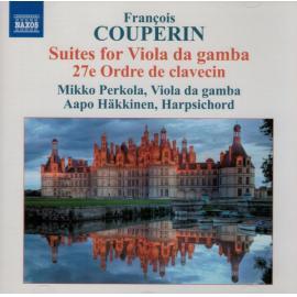 Suites For Viola Da Gamba (27e Ordre De Clavecin) - François Couperin