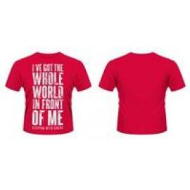 WORLD -S- RED - SLEEPING WITH SIRENS =T-S
