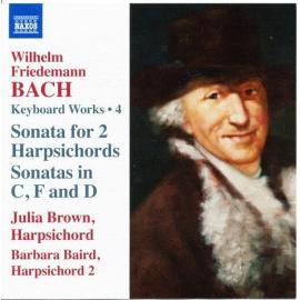 Keyboard Works Vol 4 - Wilhelm Friedemann Bach