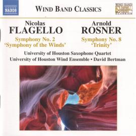 Symphony No. 2 'Symphony Of The Winds' / Symphony No. 8 'Trinity' - Nicolas Flagello