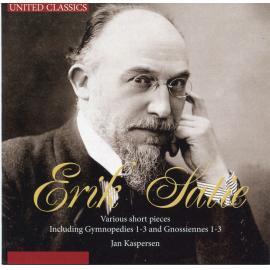 Various Short Pieces Including Gymnopedies 1-3 and Gnossiennes 1-3 - Erik Satie