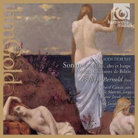 Sonate Pour Flûte, Alto Et Harpe / Syrinx / Chansons de Bilitis - Claude Debussy