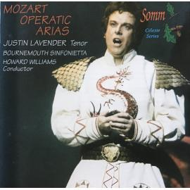 Mozart Operatic Arias - Justin Lavender