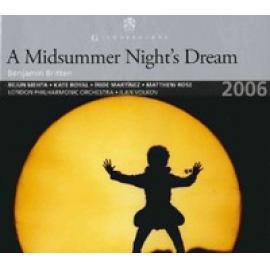 A MIDSUMMER NIGHT'S DREAM - B. BRITTEN