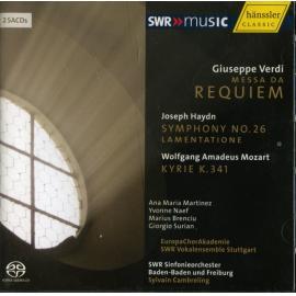 Verdi Requiem | Haydn Symphony No. 26 | Morart Kyrie - SWR Sinfonieorchester Baden-Baden Und Freiburg
