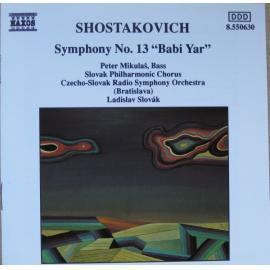 """Symphony No. 13 """"Babi Yar"""" - Dmitri Shostakovich"""