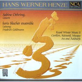Royal Winter Music II. Carillon, Récitatif, Masque. An Eine Äolsharfe - Hans Werner Henze
