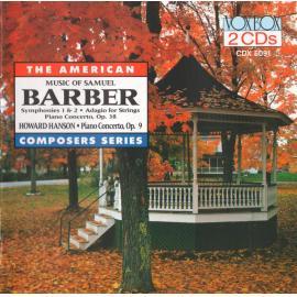 Music Of Samuel Barber; Hanson: Concerto - Samuel Barber