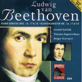 Piano Sonatas Nos. 16, 17 & 18 - Ludwig van Beethoven