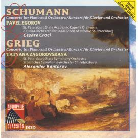 Schumann / Grieg Piano Concertos - Robert Schumann