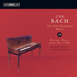 Various Pieces from the 1760s - Carl Philipp Emanuel Bach