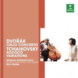 CELLO CONCERTO/ROCOCO VAR - DVORAK/TCHAIKOVSKY