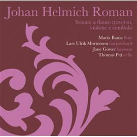 Sonate A Flauto Traverso, Violone E Cembalo - Johan Helmich Roman