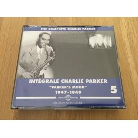 "The Complete Charlie Parker - Intégrale Charlie Parker Vol. 5 - ""Parker's Mood"" - 1947-1949 - Charlie Parker"