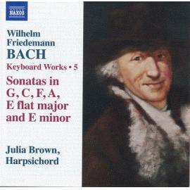 Keyboard Works Vol 5 - Wilhelm Friedemann Bach