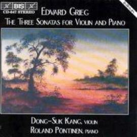 THREE SONATAS FOR VIOLIN - E. GRIEG