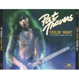 Feelin' Right - The Polydor Albums 1975-1984  - Pat Travers