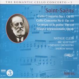 Cello Concerto No 1 Op 33 / Cello Concerto No 2 Op 119 / La Muse Et Le Poète Op 132 / Allegro Appassionato Op 43 - Camille Saint-Saëns