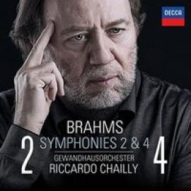 SYMPHONIES NO.2 & 4 - J. BRAHMS