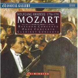 Bassoon Concerto / Oboe Concerto / Clarinet Concerto - Wolfgang Amadeus Mozart