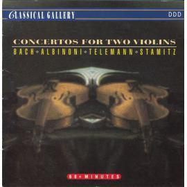 Concertos For Two Violins - Johann Sebastian Bach