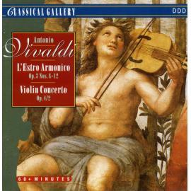L'Estro Armonico Op.3 Nos. 8-12. Violin Concertos Op.4/2  - Camerata Romana