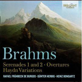 Serenades 1 And 2 / Ouvertures / Haydn Variations - Johannes Brahms
