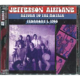 Return To The Matrix - February 1, 1968 - Jefferson Airplane