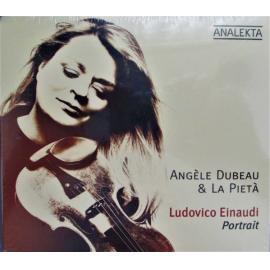 Ludovico Einaudi Portrait - Angèle Dubeau