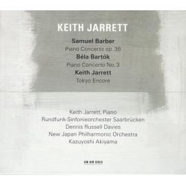 Barber / Bartók / Jarrett - Keith Jarrett