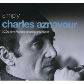 Simply Charles Aznavour (3CDs From France's Greatest Entertainer) - Charles Aznavour