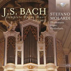 Complete Organ Music, Volume 4 - Johann Sebastian Bach