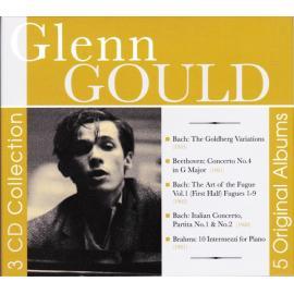 3 CD Collection / 5 Original Albums - Glenn Gould