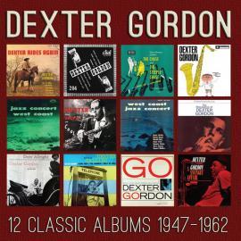 12 Classic Albums 1947 - 1962 - Dexter Gordon
