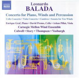 Concerto For Piano, Winds And Percussion - Leonardo Balada