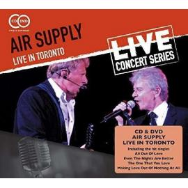 LIVE IN TORONTO -CD+DVD- - Air Supply