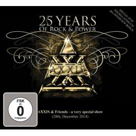 25 YEARS OF.. -DVD+CD- - AXXIS
