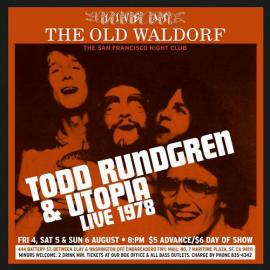 Live At The Old Waldorf - Todd Rundgren