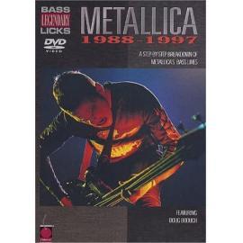 BASS LICKS -1988/1997- - Metallica