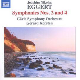 Symphonies Nos. 2 And 4 - Joachim Nikolas Eggert