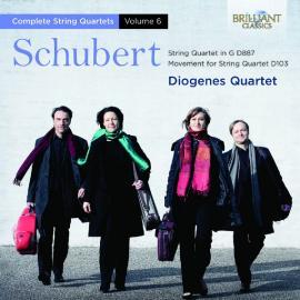 Complete String Quartets, Vol. 6 (String Quartet In G D887, Movement For String Quartet D103) - Franz Schubert