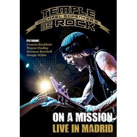 ON A MISSION-LIVE IN MADR - MICHAEL -TEMPLE OF ROCK- SCHENKER
