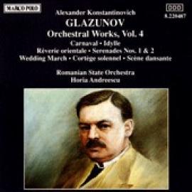 Orchestral Works, Vol. 4 - Alexander Glazunov
