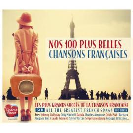 Nos 100 Plus Belles Chansons Francaises - Various