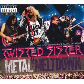 METAL MELTDOWN -BR+CD- - TWISTED SISTER