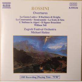 Overtures - Gioacchino Rossini