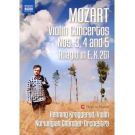VIOLIN CONCERTOS NO.3-5/A - W.A. MOZART