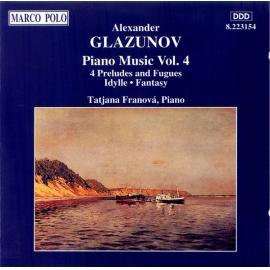 Piano Music Vol. 4 - Alexander Glazunov